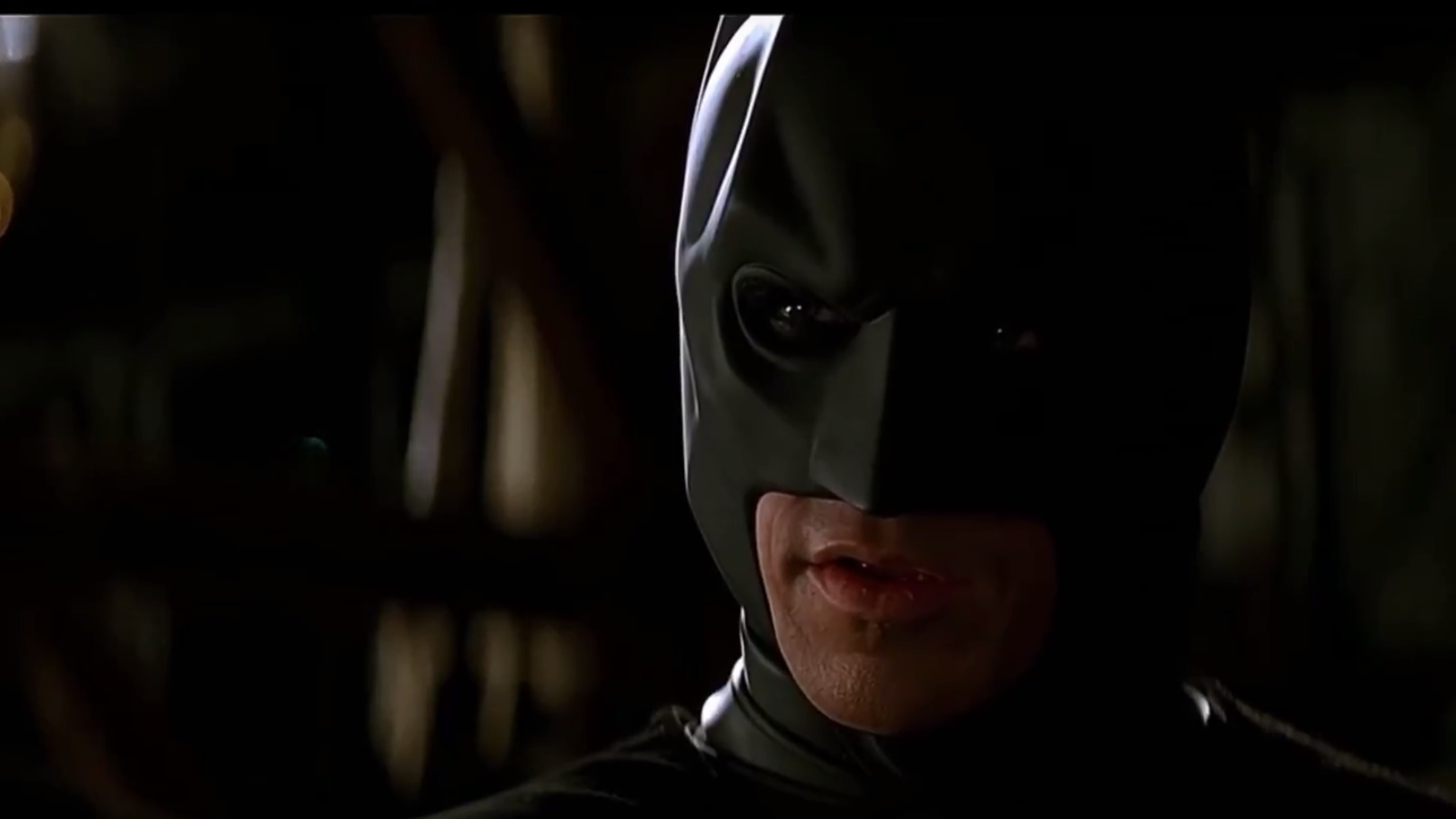 Kevin Conroy Steps Into Christian Bale's Batsuit for Iconic Dark Knight Speech