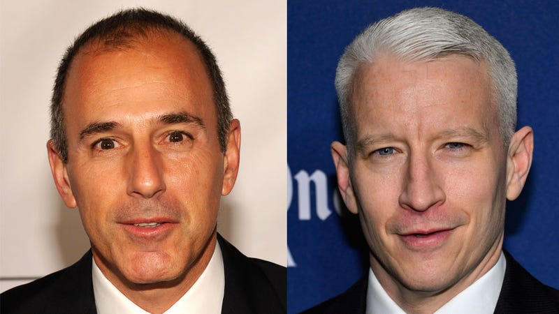 Illustration for article titled Anderson Cooper to Replace Matt Lauer on 'Today'?