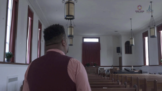 A scene from the film My God Too: Black LGBTQ Students Speak OUT, which examines the relationship between black LGBTQ students at HBCUs and the black church.Many Voices/Morgan State University