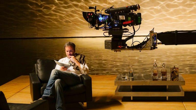 Villeneuve on the set of Blade Runner 2049. (Photo: Warner Bros.)
