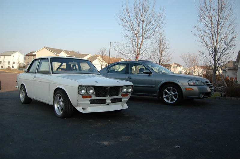 Illustration for article titled For $4,500, this Minnesotan Datsun 510 could be your prairie home companion
