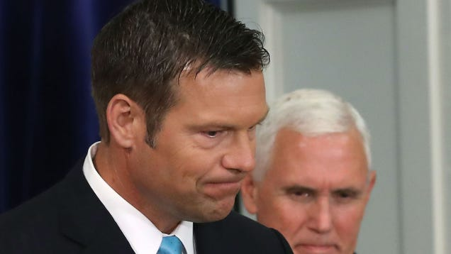 Even a Novice Hacker Could Breach the Network Hosting Kris Kobach s Bogus Voter Fraud Program
