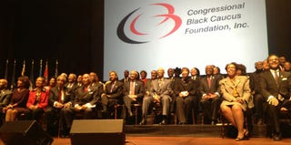 Members of the 113th Congress' Congressional Black Caucus