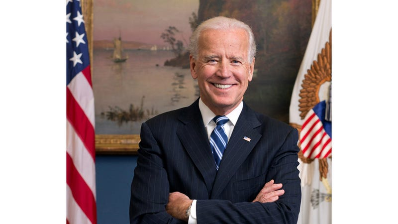 Illustration for article titled Joe Biden Is Radiant in His New Official Portrait