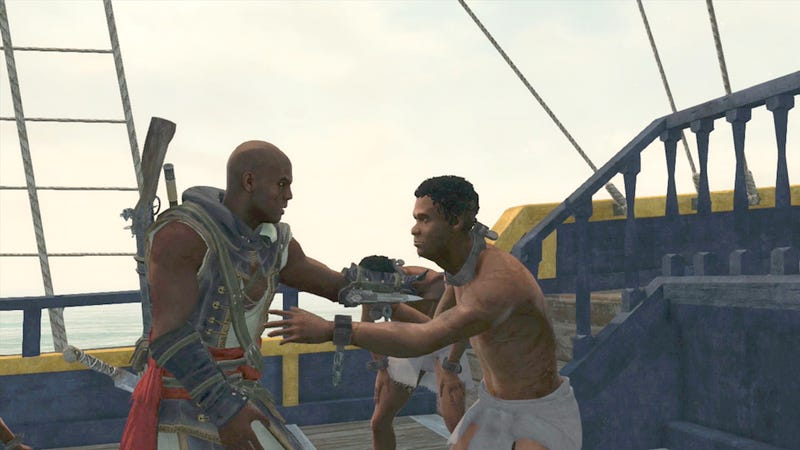 Illustration for article titled Taking Down a Slave Ship in Assassin's Creed IV's DLC Isn't Easy
