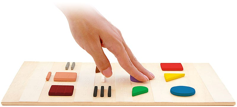 Illustration for article titled This Brilliant Touch System Lets the Visually Impaired See Colors
