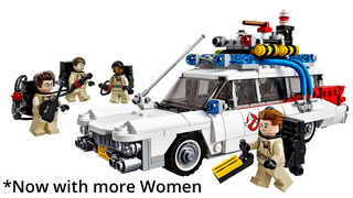 Illustration for article titled Lady Ghostbusters Means Girl-Friendly Ghostbusters Merchandise, Too!