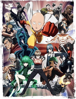 Illustration for article titled The Second Season of One-Punch Man will be animated by J.C. Staff