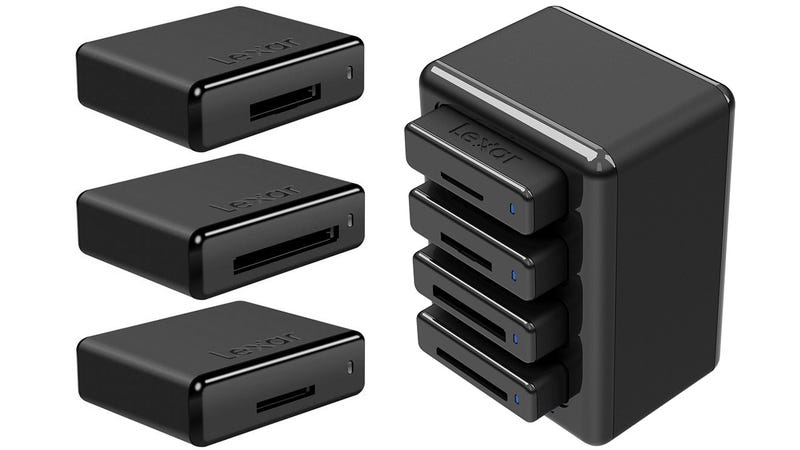 Illustration for article titled Build Exactly the Card Reader You Need With This Modular Hub