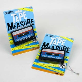 Illustration for article titled The 80s Now Have One More Cassette Tape Measure To Be Proud Of