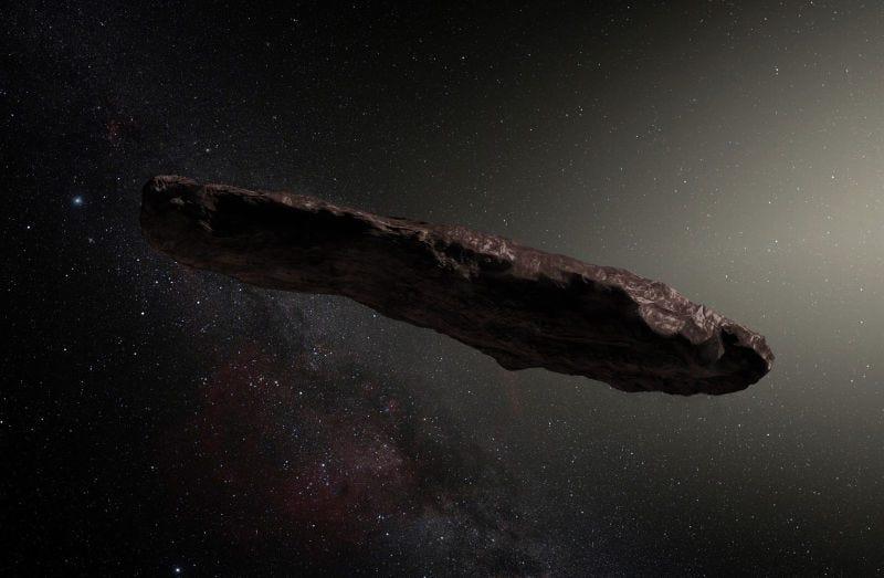 Illustration for article titled Qué significa el estudio de Harvard que afirma que el asteroide Oumuamua puede ser una sonda extraterrestre