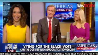 "Conservative pundit Crystal Wright discusses the ""slavish"" devotion black voters have to the Democratic Party, language that is a turnoff for many black voters, on Fox News Feb. 1, 2016.Raw Story via YouTube screenshot"