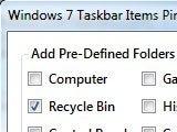 Illustration for article titled Taskbar Items Pinner Pins Anything to the Windows 7 Taskbar
