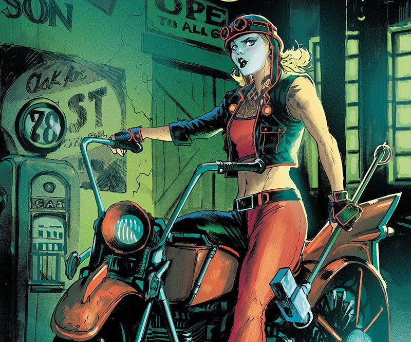 Illustration for article titled Gotham City Garage Hits the Ground Running -- Or Riding, I Guess