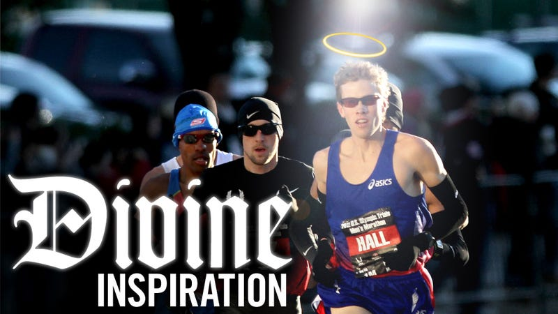 Illustration for article titled Sure, God Made The Universe. But Can He Coach An American Marathoner To Olympic Gold?