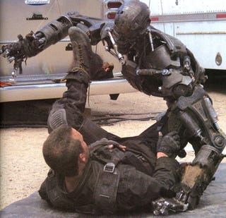 Illustration for article titled Neither Lawyers Nor Killer Robots Will Stop Terminator 5, Say Sources