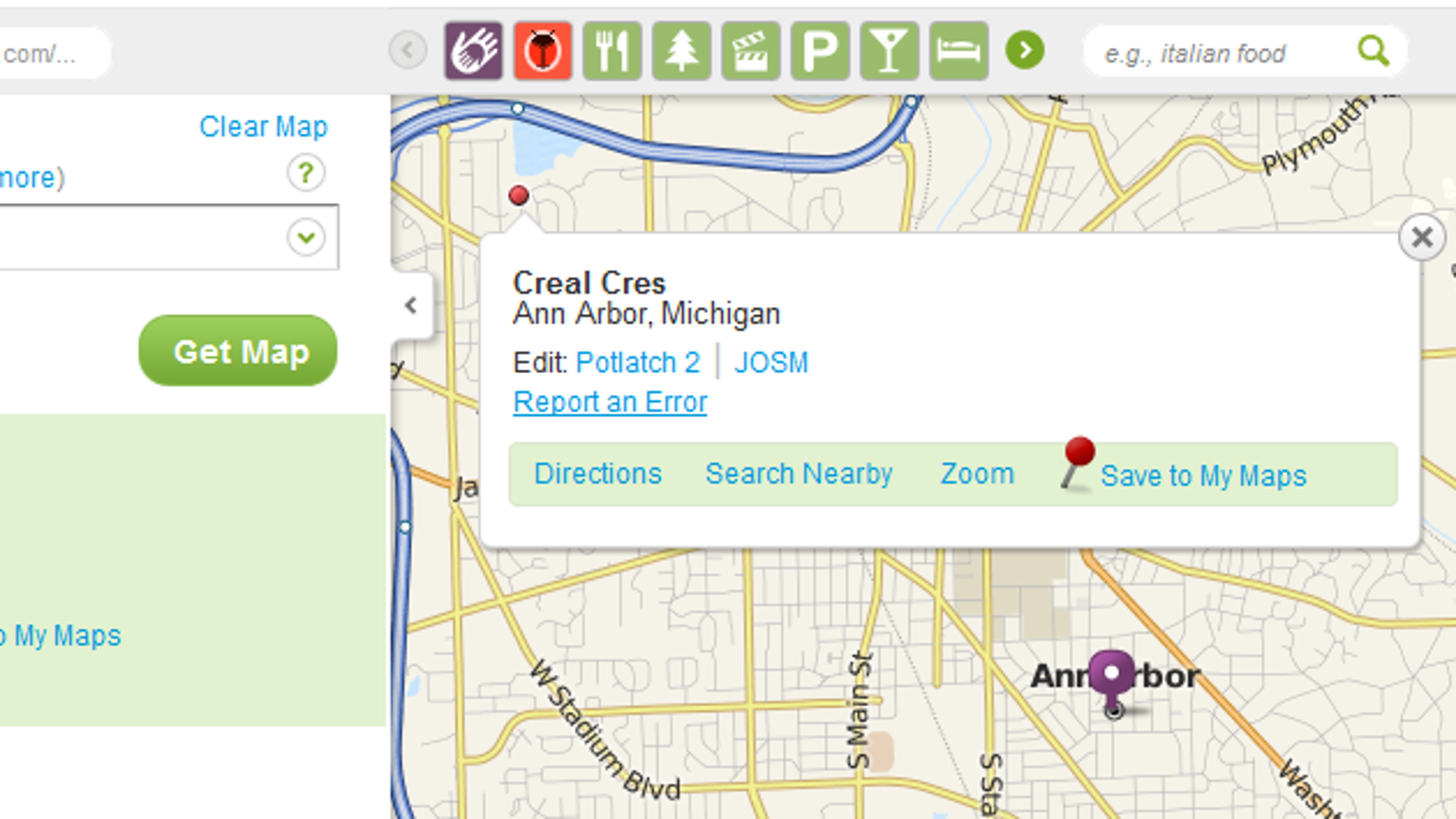 Mapquest Michigan Map.Mapquest Open Offers Maps And Directions You Can Fix