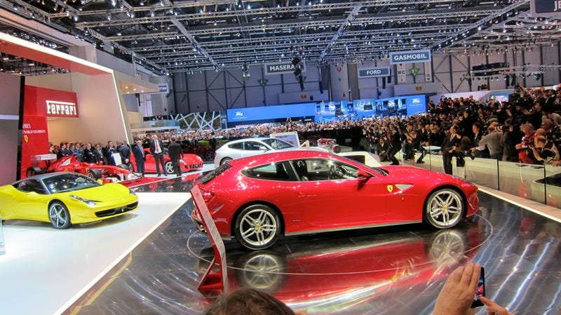 Illustration for article titled Ferrari FF Geneva gallery