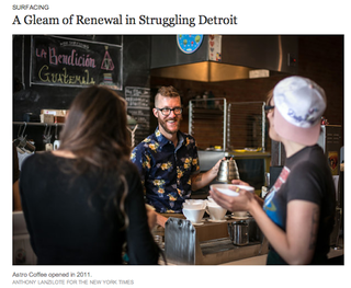Illustration for article titled The New York Times Has A Pesky Habit Of Whitewashing Detroit's Revival