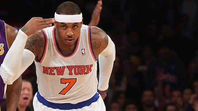 carmelo anthony isnt winning by being unselfish hes