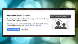 "Illustration for article titled Google+'s ""Find My Face"" Gets You Tagged in Photos Almost Automatically, If You Wish"