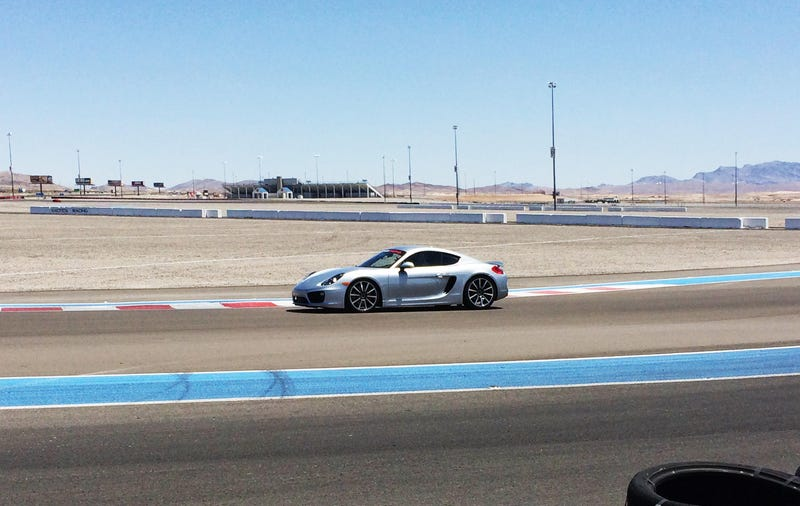 Illustration for article titled I Drove a Porsche Cayman S on a Race Track
