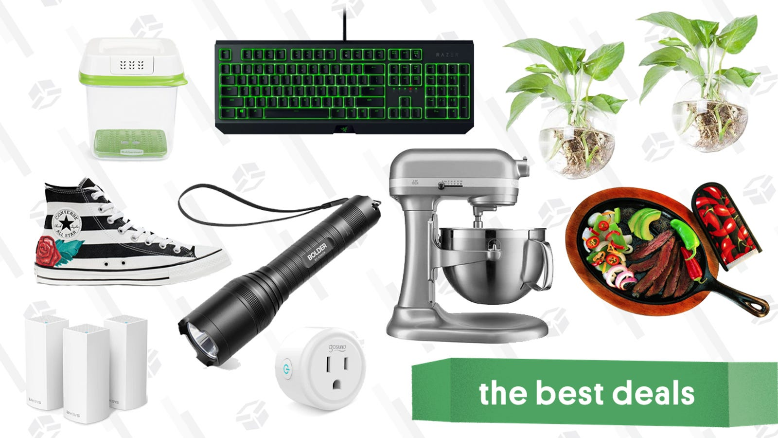 Wednesday's Best Deals: Razer Keyboard, Linksys Gold Box, Zappos Summer Sale, and More