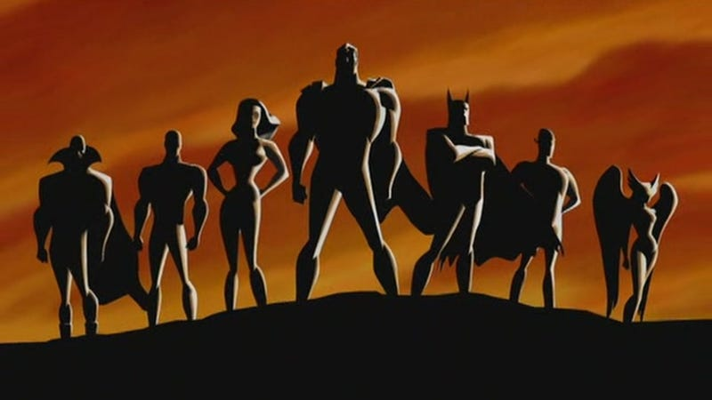 Illustration for article titled Hear the Animated Justice League Reunite for an Awesome Live-Read