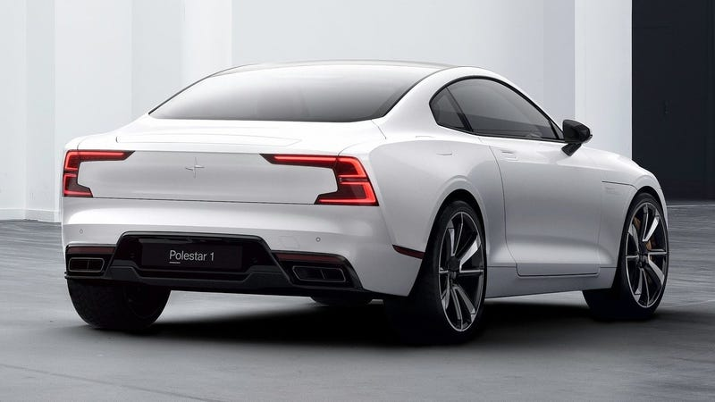 A Polestar 1 About To Drive Away However Fast It Well Wants Go