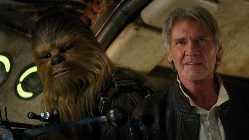 Illustration for article titled Han Solo Has Become an Urban Legend in Star Wars: The Force Awakens