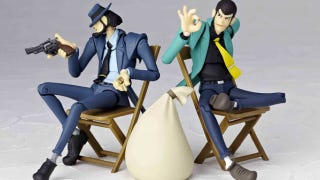 Illustration for article titled These Lupin the Third Figures Want to Steal Your Shelf