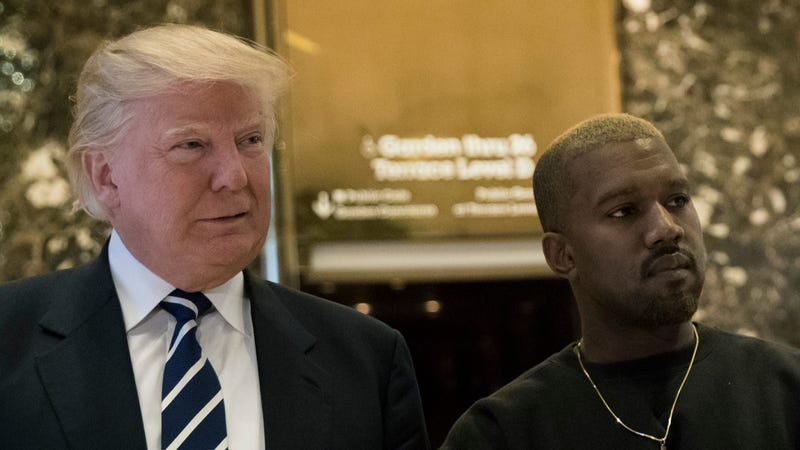 Illustration for article titled Kanye West to Meet With Donald Trump to Discuss Things About a Lot of Stuff