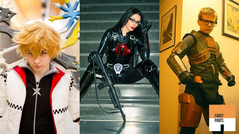 Illustration for article titled Mass Effect, GI Joe & Half-Life 2 Lead The Cosplay Charge This Week