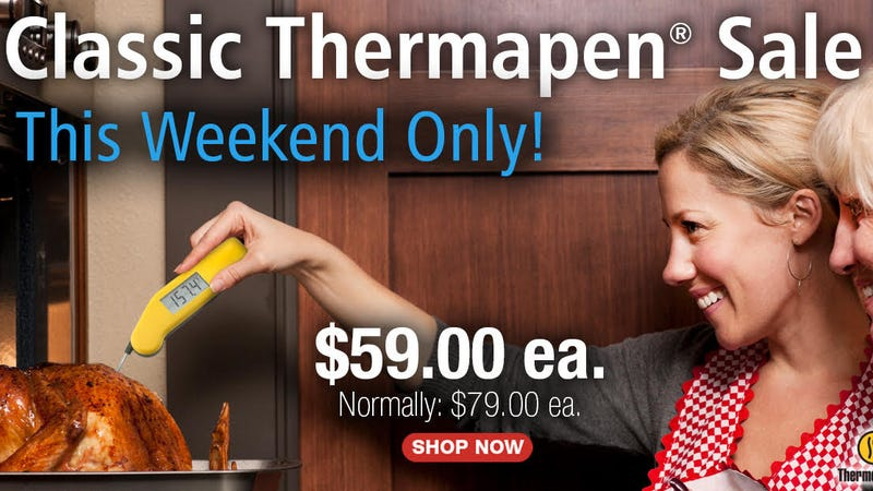 Thermapen Classic | $59 | ThermoWorks | Red, yellow, and green only
