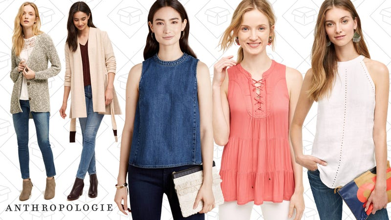 20% Off Full-Price Tops at Anthropologie