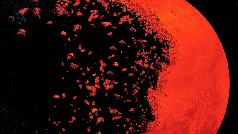Before Mars cover detail.