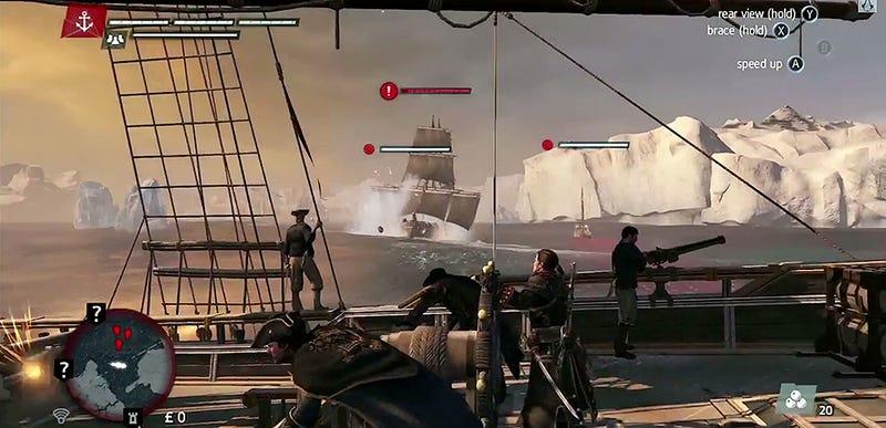 Illustration for article titled Assassin's Creed: Rogue muestra por primera vez sus gráficos de juego