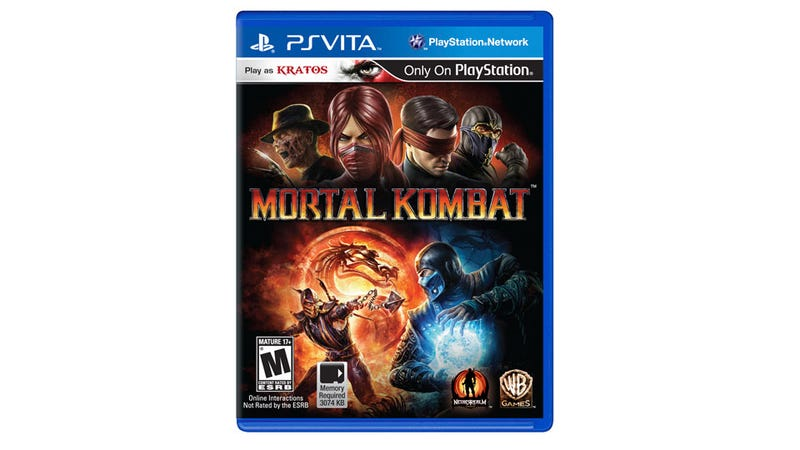 Illustration for article titled Mortal Kombat Coming to the PlayStation Vita In Spring 2012