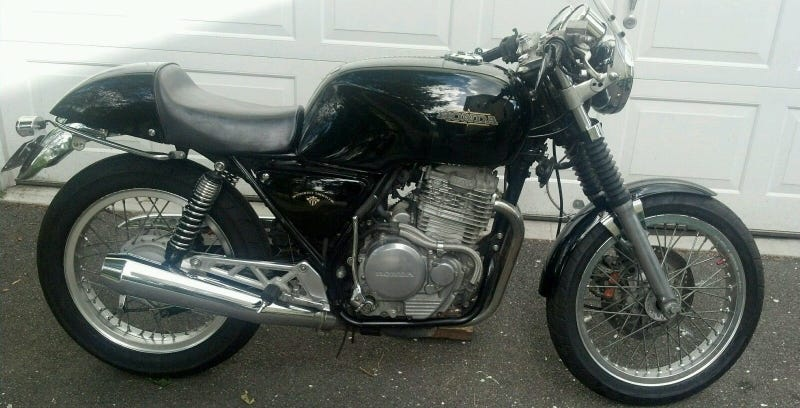 Illustration for article titled For $4,750, This 1989 Honda GB500 Could Be Your Retro Retro-Bike Dream