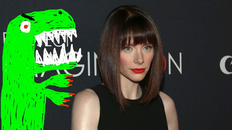 Illustration for article titled Bryce Dallas Howard Will Be Lead Dino Wrangler in Jurassic Park Sequel