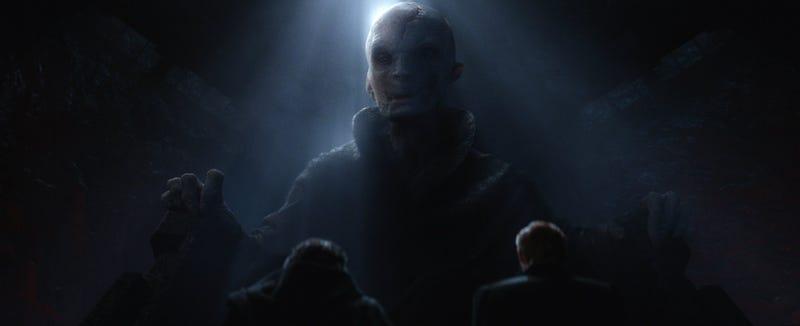 Illustration for article titled Las 13 teorías más absurdas sobre la identidad del Líder Supremo Snoke en Star Wars