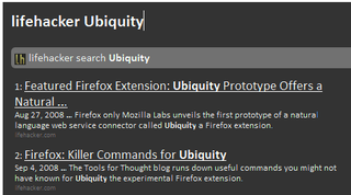 Illustration for article titled Make Ubiquity Your Ultimate Firefox Commander