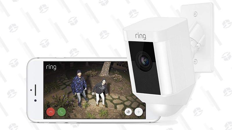 Ring Spotlight Cam Battery   $169   AmazonRing Spotlight Cam Wired   $169   AmazonRing Spotlight Cam Mount (Wired to electrical boxes)   $219   AmazonRing Floodlight Cam   $219   Amazon