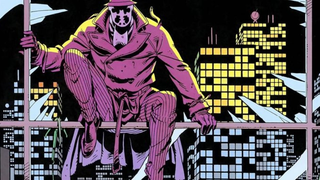 Okay, no, he's not playing Rorschach, I just like this art.