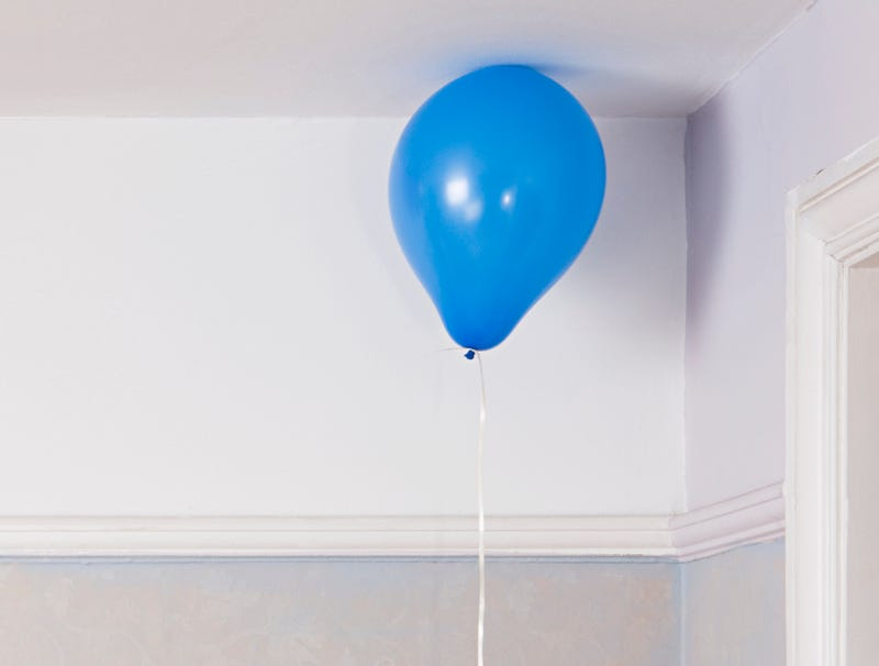 Illustration for article titled Shy Balloon Spends Entire Party Floating In Back Corner Of Room By Itself