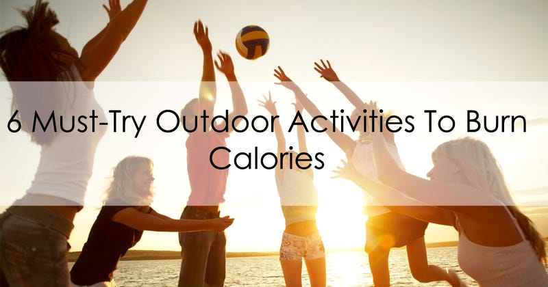Illustration for article titled 6 Must-Try Outdoor Activities To Burn Calories