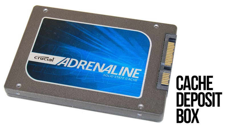 Illustration for article titled Crucial Adrenaline SSD Review: Solid State Cache for Your Hard Drive