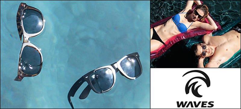 Illustration for article titled WavesGear: Waves II Polarized, Floating Sunglasses ($28)