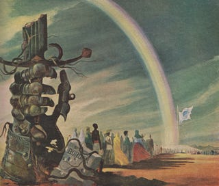 Illustration for article titled One World Government and the War of Tomorrow