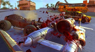Illustration for article titled Ludicrous Violence: The Steam Stream Plays Carmageddon Reincarnation